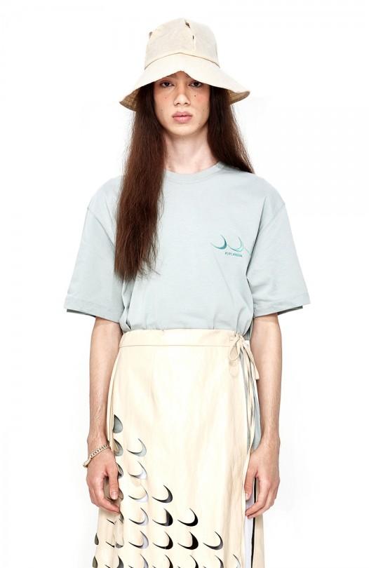 Oscar Futurera Tucked T-shirt