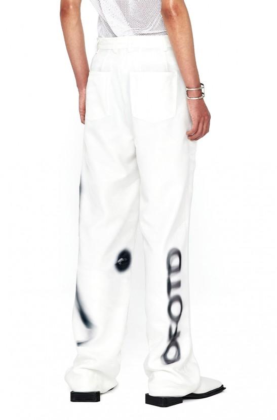 Moire Wide Pants