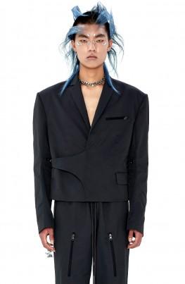 Zip Detail Jacket