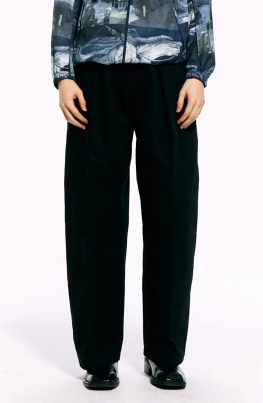 Black Wide Pants