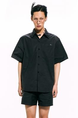 Black Short-Sleeved Shirt