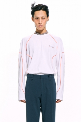 Stitch Detail Long Sleeved T-shirt